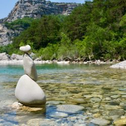 The cairn, path of life - energy rebalancing